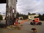 reclamation of Sierra Padific lumber mill in camino
