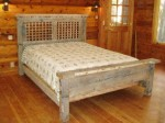 Happy Trails queen size bed