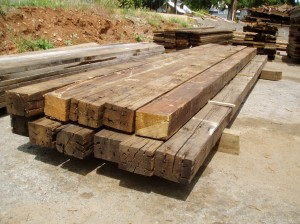 reclaimed lumber from Millwood Reclamation